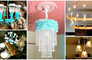 60 Easy DIY Chandelier Ideas That Will Beautify Your Home - DIY & Crafts