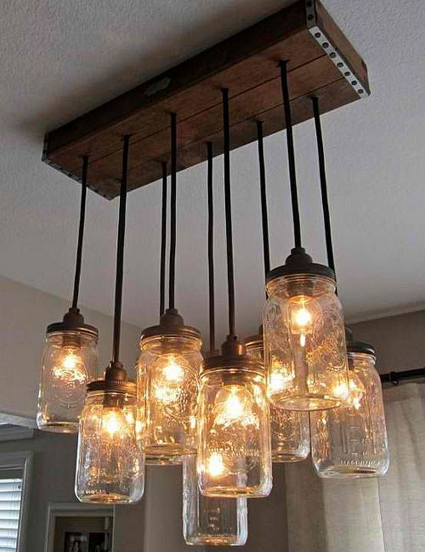 Fantastic DIY Chandelier Tutorials and Ideas for Decorating on a Budget
