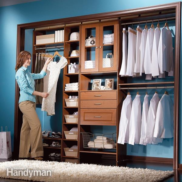 DIY Closet System: Build a Low-Cost Custom Closet | The Family Handyman