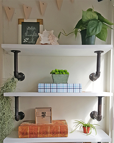 DIY Shelves Help You Organize Your Home   Better