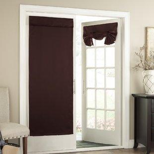 Half Window Door Curtains | Wayfair