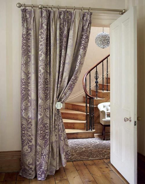 A Curtained Doorway | Home | Pinterest | Doorway, Bedroom and Curtains