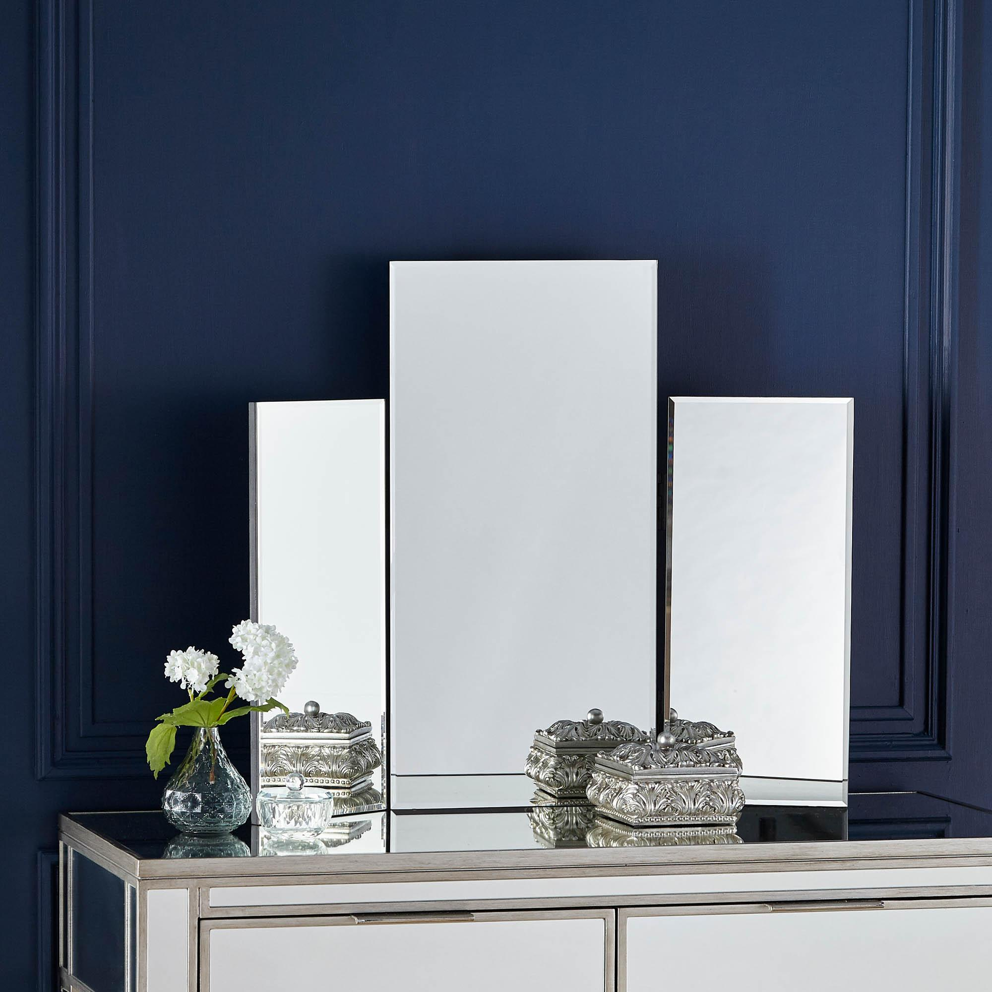 Glass Dressing Table Mirror | Dunelm