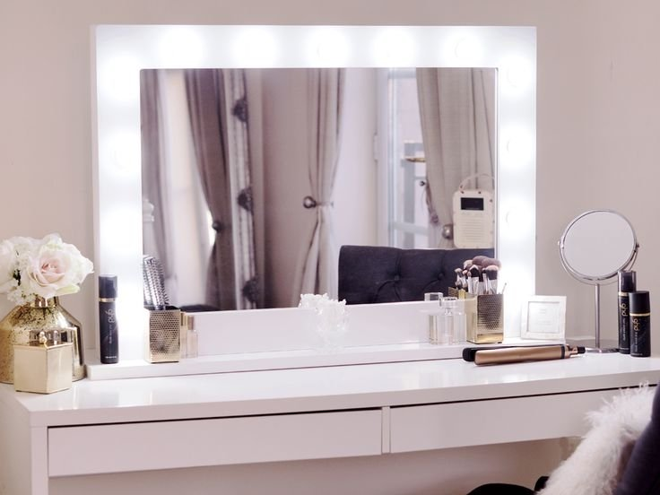 Dressing Table Mirror With Lights - Visual Hunt