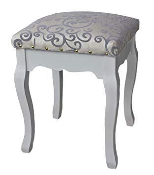 elbmoebel Dressing table stool cushion padded chair available in