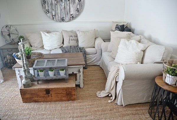 Ikea Slipcover Sofa Review - Honest Opinions 3 Years Later - Liz