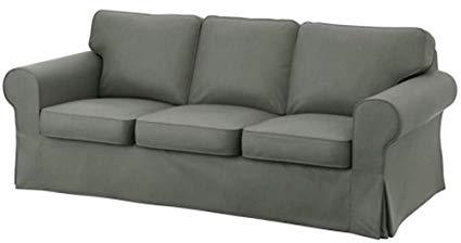 Amazon.com: Heavy Cotton for IKEA Ektorp 3 Seat Sofa Cover
