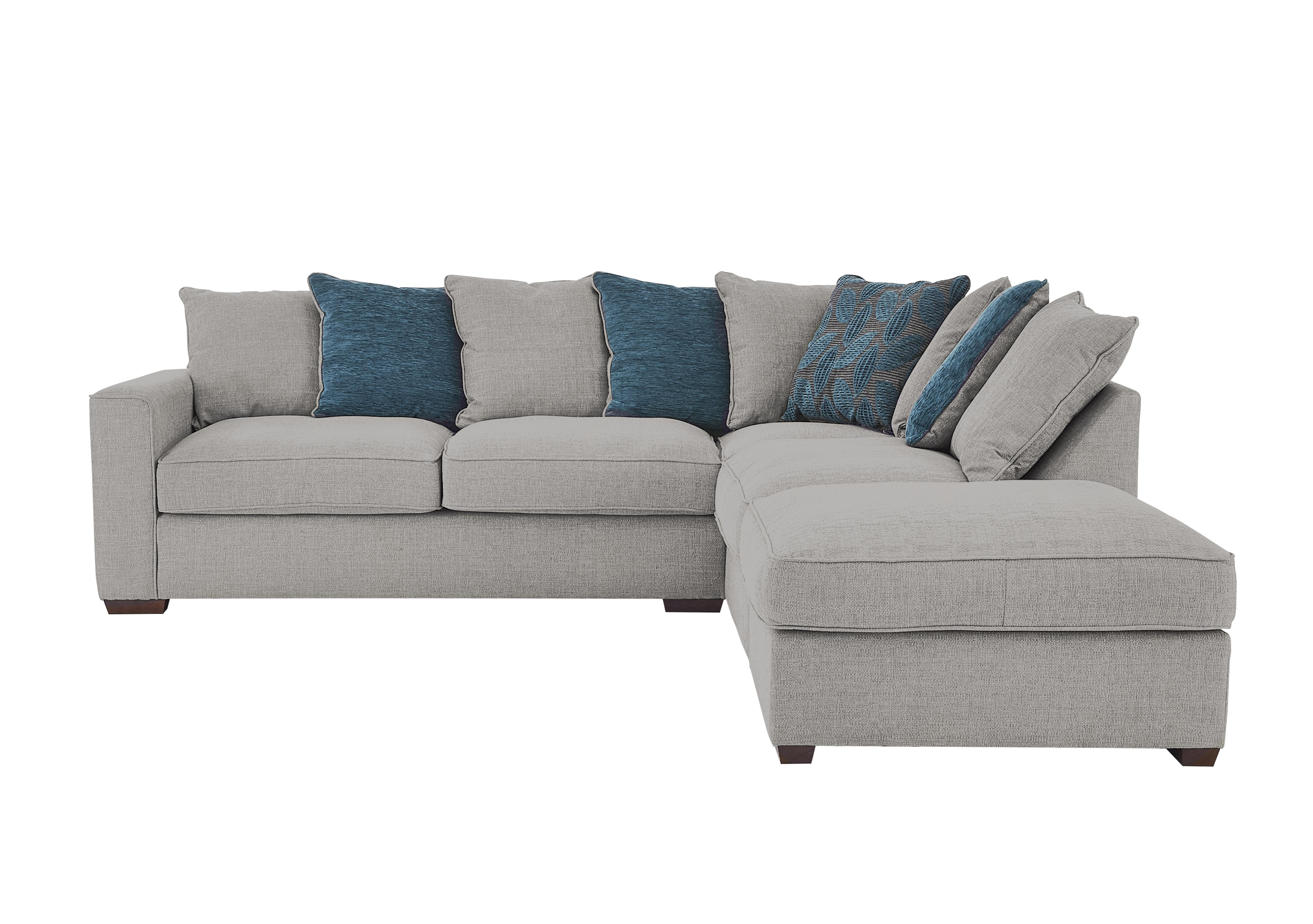 Seasons Pillow Back Fabric Corner Sofa - Furniture Village