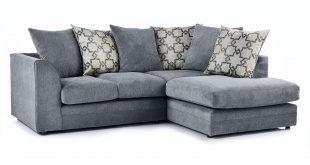 Washington Right Hand Fabric Corner Sofa | Dunelm