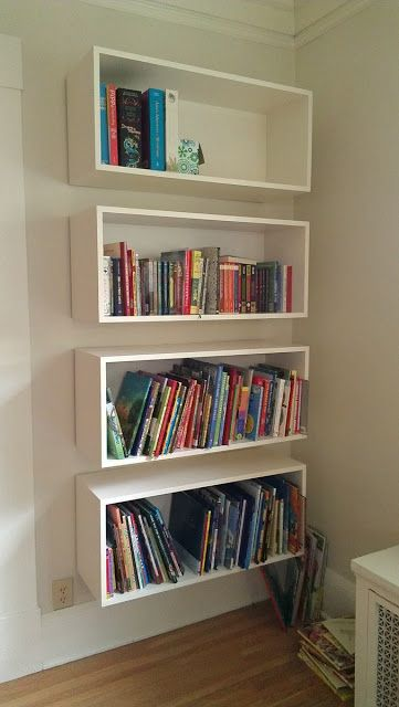 15 Fabulous Floating Shelf Projects and Designs   BookShelves
