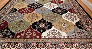 Amazon.com: Large Rugs For Living Room Cheap 8'x11' MultiColor Red
