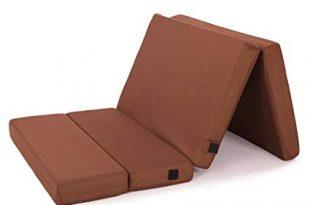 Amazon.com: Comfort & Relax Memory Foam Folding Mattress Topper Twin