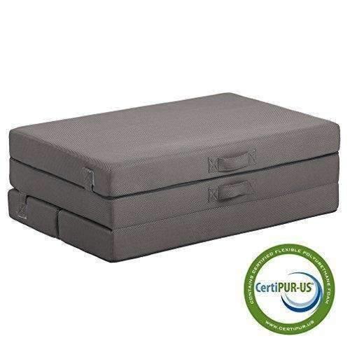 Folding Mattress Guest Bed Camping Cot Tri-Fold 4
