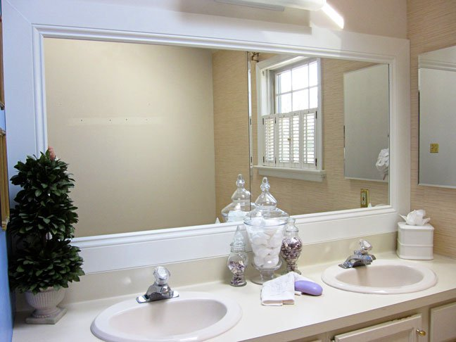 Framed Bathroom Mirrors Reflect Elegance   and Grace