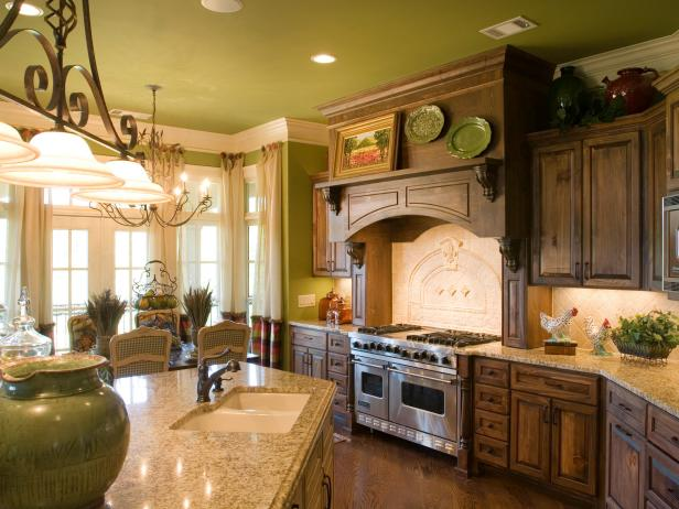 French Country Kitchen Cabinets: Pictures & Ideas From HGTV   HGTV