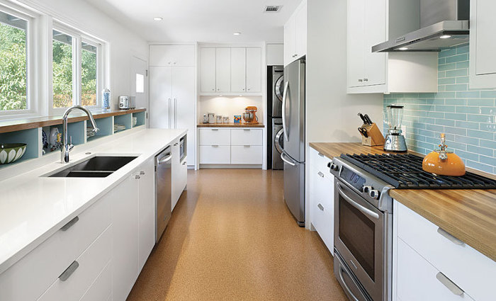 A Galley Kitchen That Works - Fine Homebuilding
