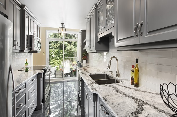 Galley Kitchens In Modern Homes