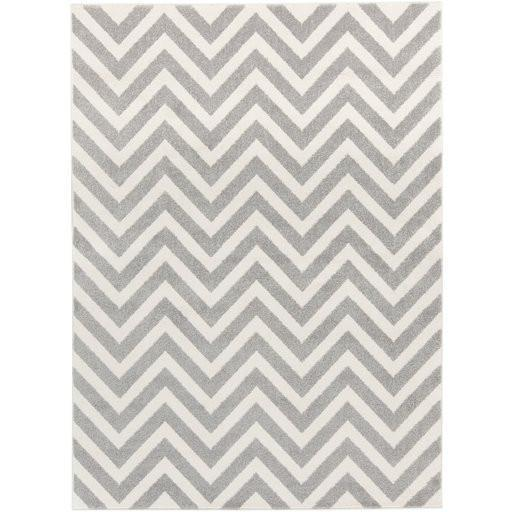 Horizon Area Rug | Off-White Geometric Rugs Machine Made | Style