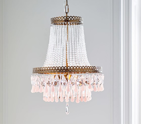 Vintage Glass Chandelier | Pottery Barn Kids