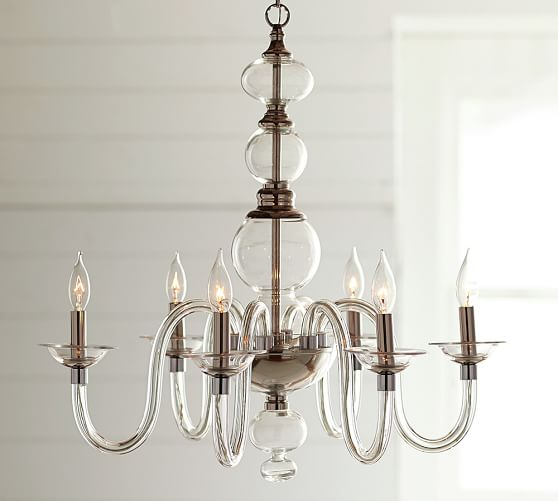 Glass Chandelier for Well-Styled Homes
