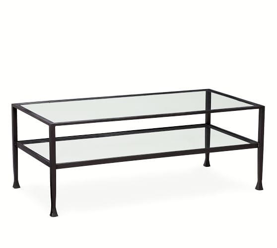 Tanner Rectangular Coffee Table | Pottery Barn