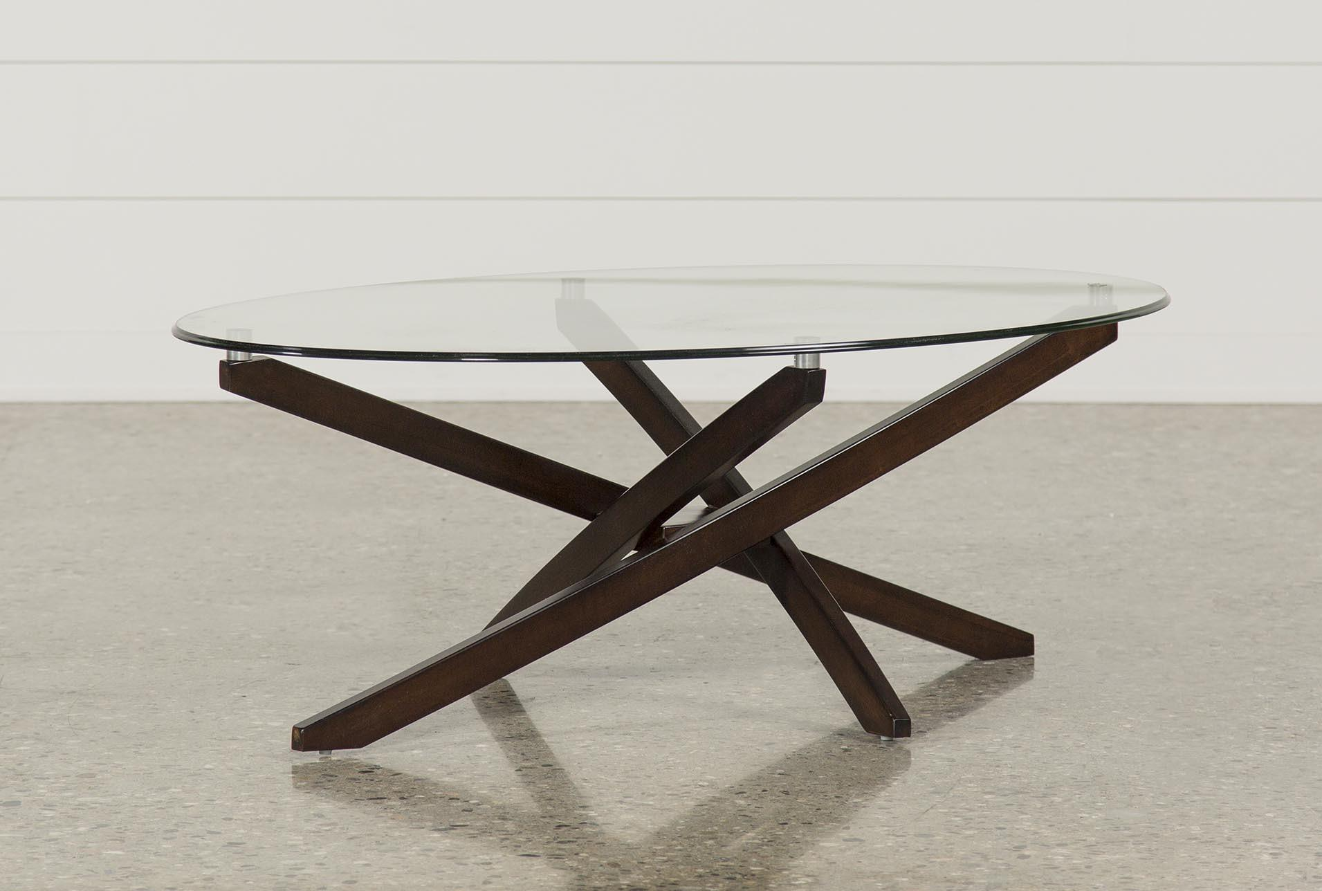 Brisbane Oval Coffee Table | Living Spaces
