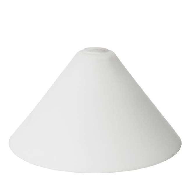 Opal cone pool table glass lamp shade | Mullan Lighting