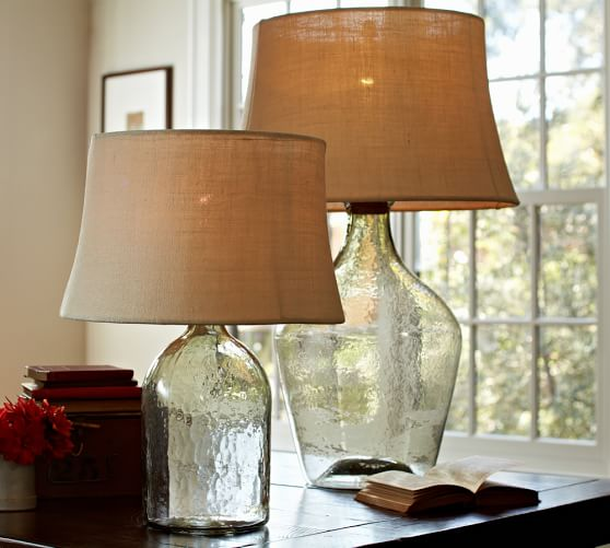 Clift Glass Table Lamp Base | Pottery Barn