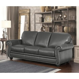 Buy Grey, Leather Sofas & Couches Online at Overstock | Our Best