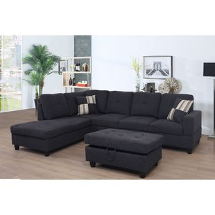 Gray Sectional With Ottoman | Wayfair