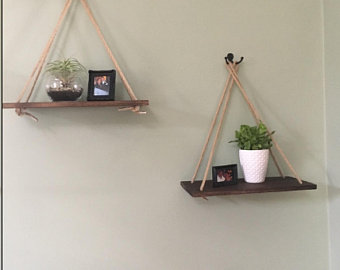 Hanging shelves | Etsy