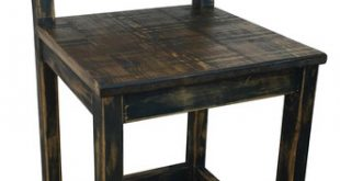 Tenampa rustic Stool - Rustic - Bar Stools And Counter Stools - by