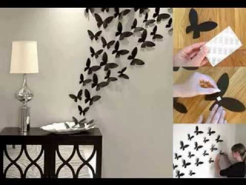 Wall decor home ideas - YouTube