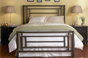 Wesley Allen Iron Beds Queen Contemporary Sunset Iron Bed