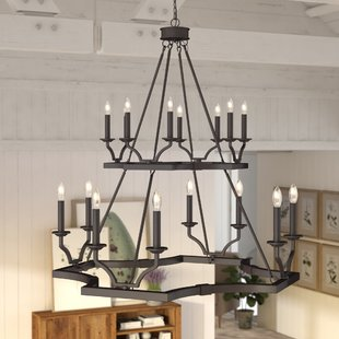Iron Chandeliers You'll Love | Wayfair