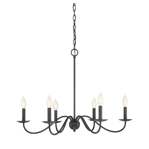 Iron Chandelier for Better Illumination   and Regal Decor