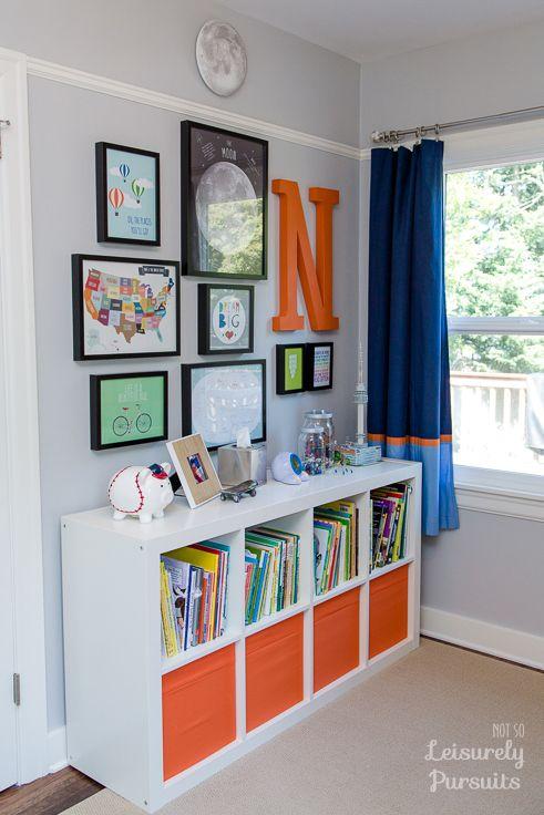 Bedroom for a Kindergartner | Boys room! | Bedroom, Room, Kids bedroom