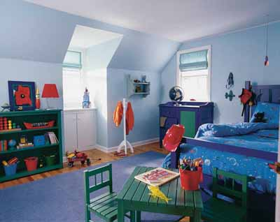 Crayon Box Colors Kids' Bedroom Decorating Idea | HowStuffWorks