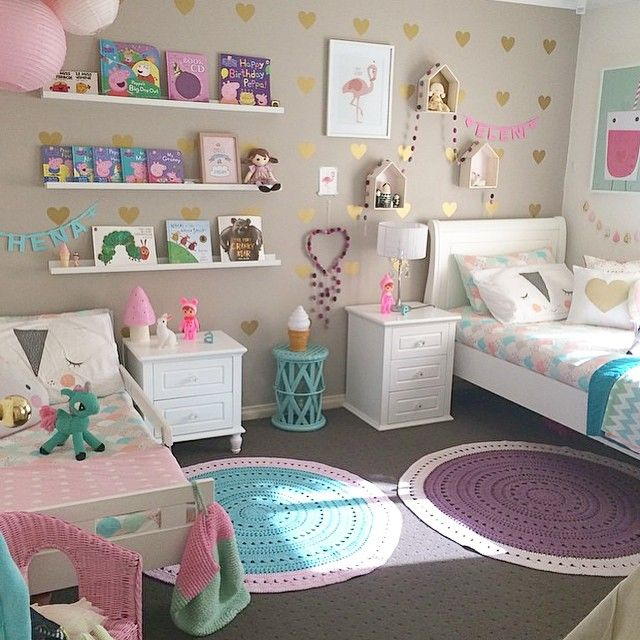 20+ More Girls Bedroom Decor Ideas | dream house | Girls bedroom