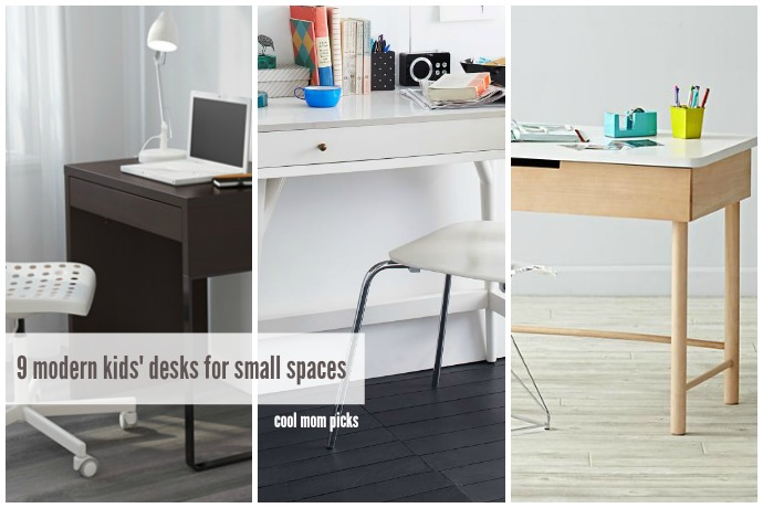 9 modern kids' desks for small spaces | Cool Mom Picks