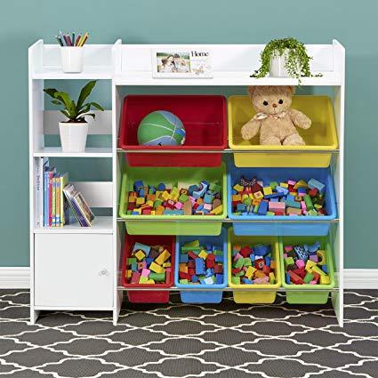 Amazon.com: Bluemoon Kids Toy Storage Organizer with Kids Toy Shelf