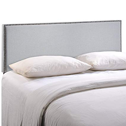 Amazon.com - Modway Region Upholstered Linen King Headboard Size