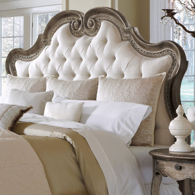 Gorgeous King Upholstered Headboard With Catchy Intended For