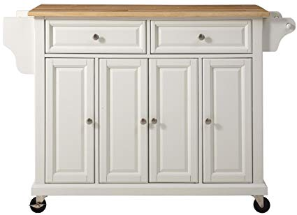 Amazon.com - Crosley Furniture Rolling Kitchen Island with Natural