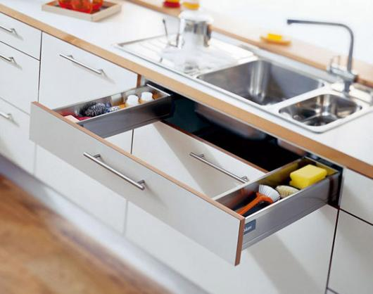Modular Kitchen Stylish Drawers At Rs 65000 Unit