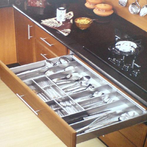 Modular Kitchen Drawer in Ahmedabad, मॉड्यूलर किचन