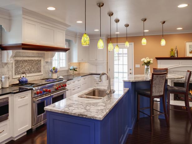 DIY Painting Kitchen Cabinets Ideas + Pictures From HGTV | HGTV