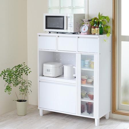 livingut: With door oven glass kitchen storage units width 90 cm