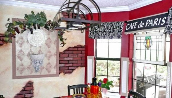 french bistro kitchen theme | Funky Paris Cafe Theme, This is what