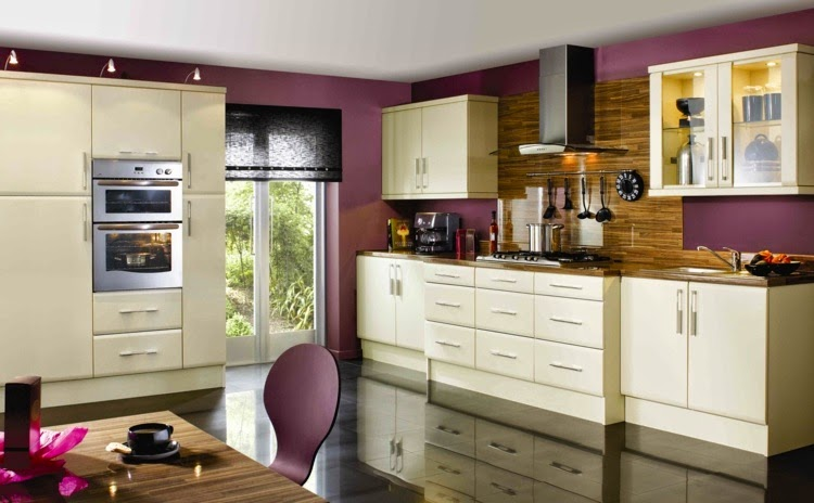 Contrasting kitchen wall colors: 15 cool color ideas | Home Design